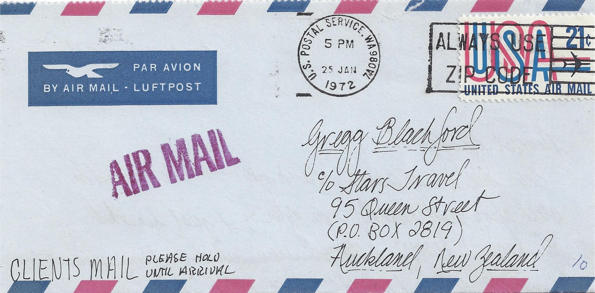 Frank's NZ Letter